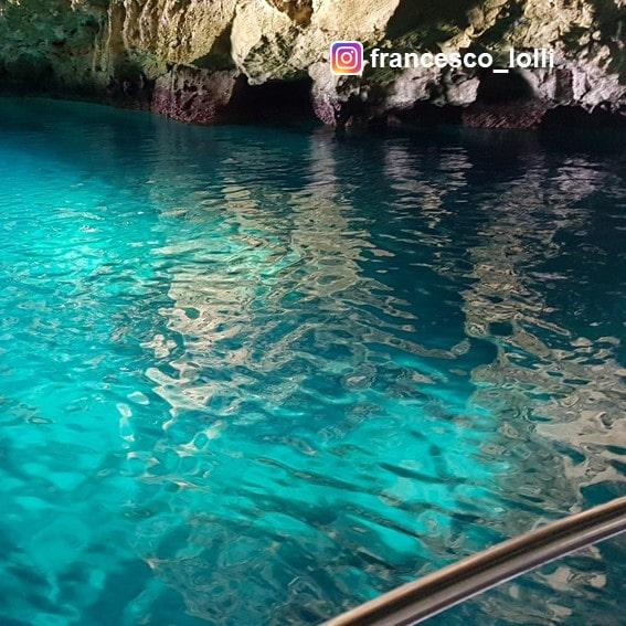 Interno Grotta Azzurra
