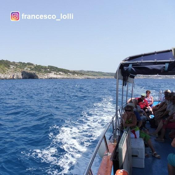Escursione in barca Castromarina