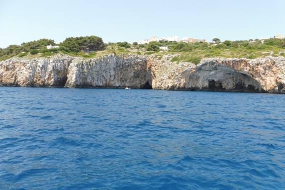 Grotte e torri da Porto Badisco a Castro Marina