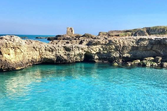 Grotte e torri da San Foca ad Otranto