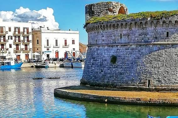 Gallipoli: il castello, antico gioiello militare